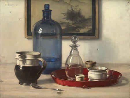 Jan Bogaerts still life and landscape paitings