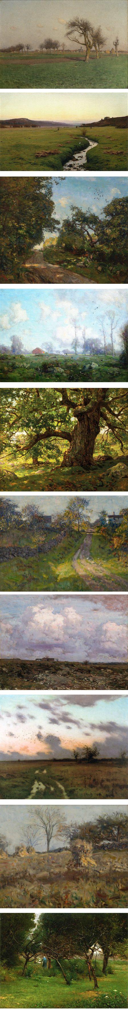 Charles Harold Davis, landscape paintings