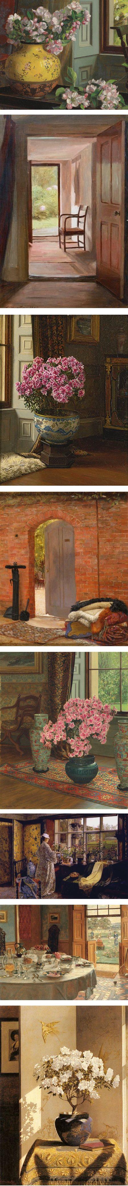 Jessica Hayllar interiors and still life