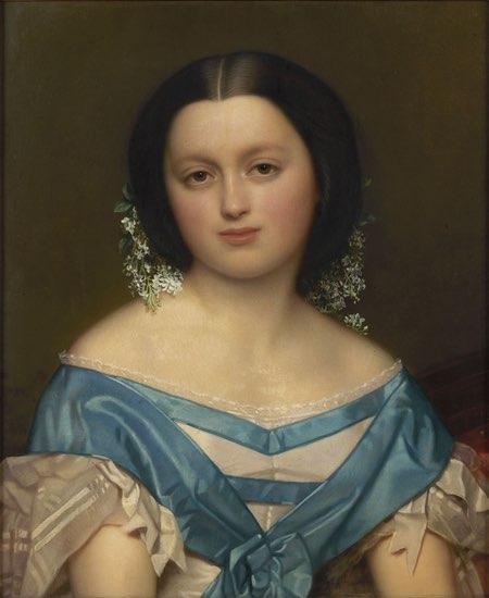 Portrait of Henriette Mayer van den Berg, Jozef Van Lerius