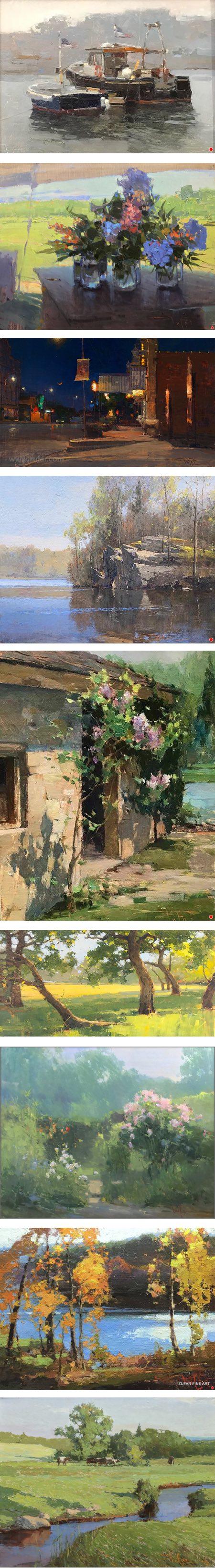 Zufar Bikbov paintings