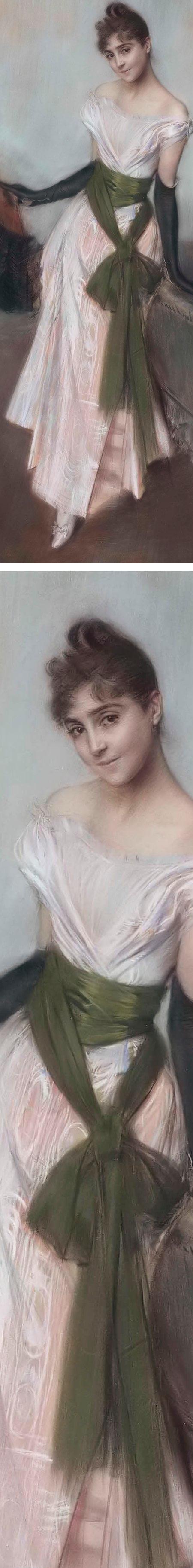 Signorina Concha de Ossa, Giovanni Boldini