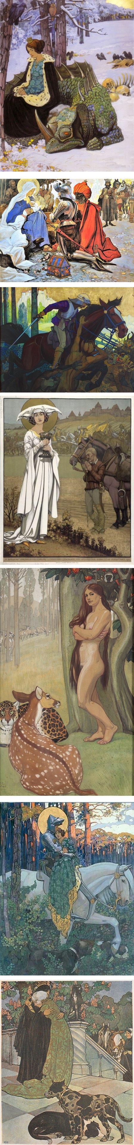 Maximilian Liebenwein, classic illustration