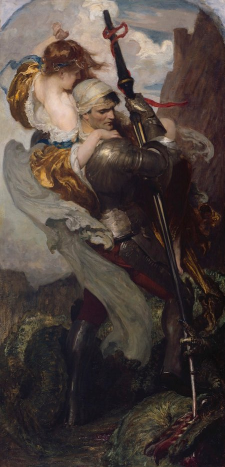 St George and the Dragon, Solomon J. Solomon