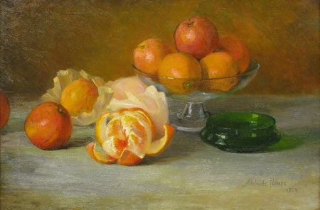 Still Life with Oranges, Adelaide Palmer