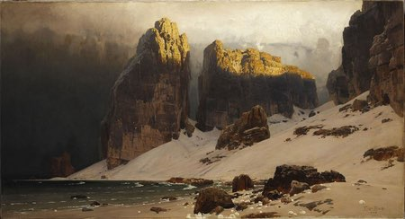 Eugen Bracht, The Shore of Oblivion