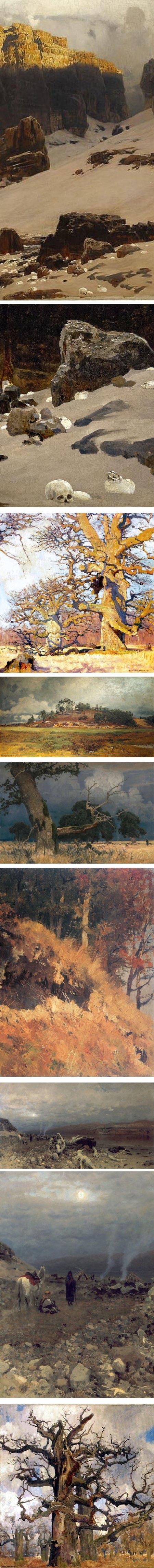 Eugen Bracht, paintings