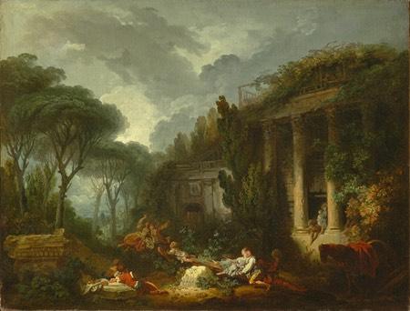 La Bascule, Jean-Honore Fragonard
