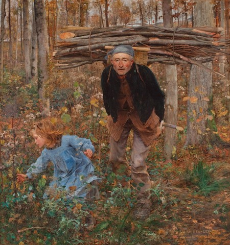 Le Pere Jacques (The Wood Gatherer)